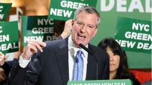 NYC Mayor Bill de Blasio Running For 2020 Dem Nod [Video]