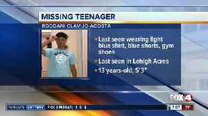 13-year-old Roddani Clavijo-Acosta reported missing in Lehigh Acres [Video]