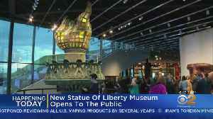 New Statue Of Liberty Museum Opens Today [Video]
