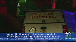 Police Arrest Alleged Driver In Penn Hills Fatal Hit-And-Run [Video]
