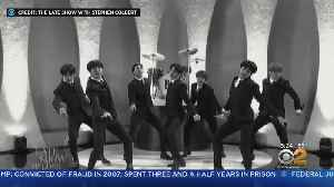 BTS Pays Tribute To The Beatles On Colbert [Video]