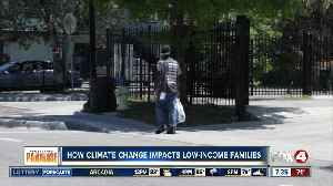 Climate change disproportionately affects low-income populations [Video]