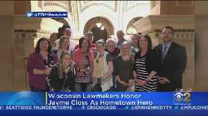 Jayme Closs Honored As Hometown Hero