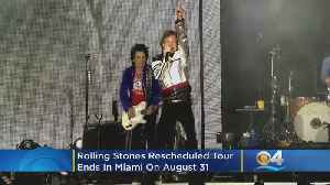Rolling Stones Rescheduled Tour Ends In Miami On August 21 [Video]