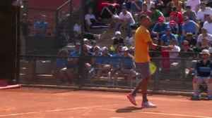 Kyrgios throws chair in Rome meltdown [Video]
