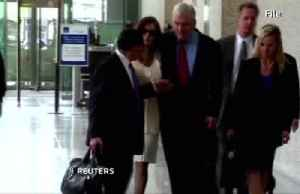 News video: Trump pardons ex-media mogul Conrad Black