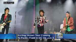 Rolling Stones Tour U.S. This Summer, Band Comes To DC July 3 [Video]