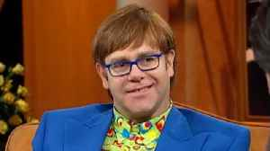 Elton John Reveals the Precious Gift He Received From His Husband [Video]