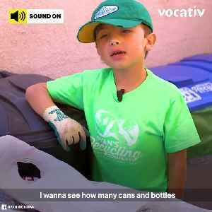 9-Year-Old Eco-Hero Makes Money While Saving the Planet [Video]