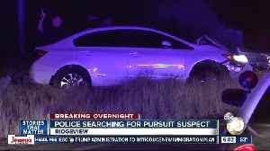 Driver leads San Diego police on chase, ditches car after crash [Video]