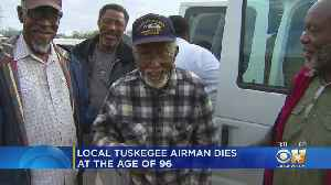 Tuskegee Airman Laid To Rest In North Texas [Video]