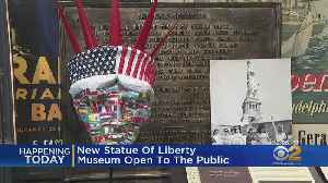 New Statue Of Liberty Museum Open To The Public [Video]