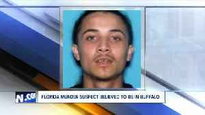 'Armed and dangerous' murder suspect believed to be in WNY [Video]