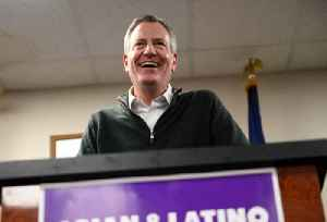 News video: NYC Mayor Bill de Blasio Enters 2020 Presidential Race