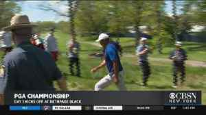 PGA Championship Is Underway At Bethpage Black [Video]