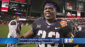 TCU Football Player Sewo Olonilua Arrested In Huntsville For Drug Possession [Video]