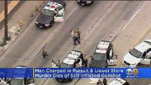 Suspect In Murder Of Downey Liquor Store Owner Dies [Video]