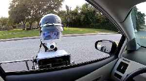 Police robot for traffic stops [Video]