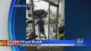 Flood Of Trouble In Miami Beach [Video]