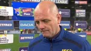 Richard Agar on loss to Tigers [Video]