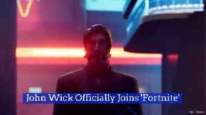 'Fortnite' Welcomes John Wick To The Ultimate Fight [Video]