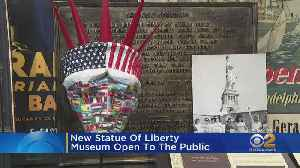Statue Of Liberty Museum Opens [Video]