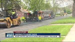 Detroit to invest $100 million to improve 100 miles of roads [Video]