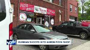 Workers startled after shots fired into Akron pizza shop [Video]
