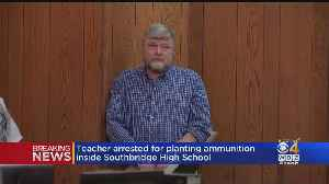 Teacher Accused Of Planting Ammunition In Southbridge High School [Video]
