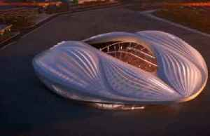 News video: Qatar brings first newly-built 2022 World Cup stadium to life