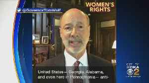 Gov. Tom Wolf Speaks Out Against Abortion Bans [Video]