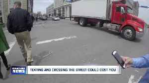 Bills in Albany aim to outlaw using a phone while crossing the street [Video]