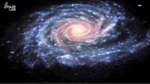 News video: A Mysterious 'Dense Bullet' Blasted a Giant Hole in the Milky Way