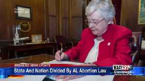 State and Nation Divided by Alabama Abortion Law [Video]