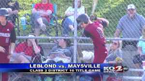 LeBlond and Savannah win district titles [Video]
