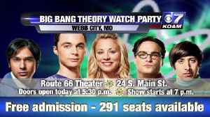 Big Bang Theory Watch Party Preview [Video]