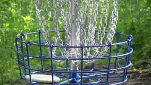 New disc golf course sees first round of action [Video]