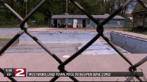 Right in time for summer, Westmoreland Town Pool will reopen this June [Video]