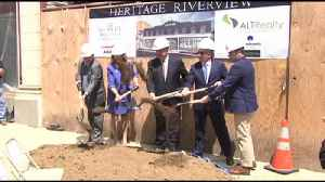 VIDEO Groundbreaking held for building which will house Hearst Corp. office [Video]