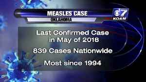 OK Measles Case [Video]