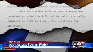 Abortion Law Fact vs Fiction [Video]