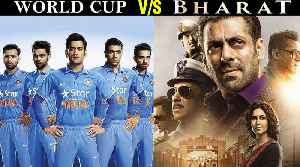 Salman Khan Does Not Fear World Cup 2019 | Bharat VS India South Africa World Cup Match [Video]