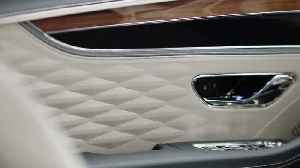 New Bentley Flying Spur 3D Leather [Video]