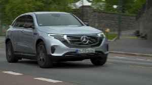 Mercedes-Benz EQC 400 4MATIC high tech silver metallic Driving Video [Video]