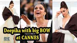 Deepika goes dramatic with big BOW at CANNES [Video]
