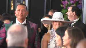 Alex Rodriguez crashes fiancee Jennifer Lopez's tour rehearsals [Video]