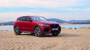 Jaguar F-PACE SVR 550PS AWD Design in Firenze Red [Video]