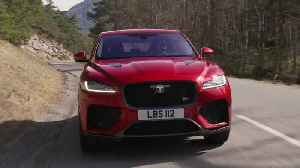 Jaguar F-PACE SVR 550PS AWD Firenze Red Driving in Southern France [Video]