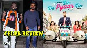 De De Pyaar De | CELEB REVIEW | Ayushmann says it's fun watch [Video]