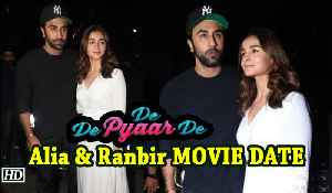 Alia & Ranbir MOVIE DATE | De De Pyaar De [Video]
